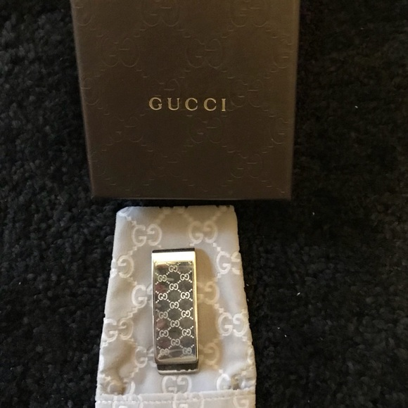 6c10c28020c189 Gucci Accessories | Mens Authentic Silver Money Clip | Poshmark